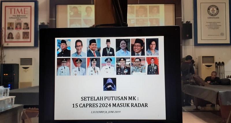 LSI Denny JA, Nama Puan & Ganjar Diprediksi Jadi Capres 2024