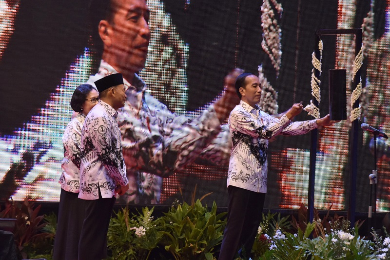 Presiden Minta PGRI Berperan dalam Memperkokoh NKRI