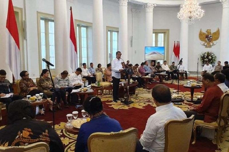 Empat Menteri Ini Kena Teguran Jokowi