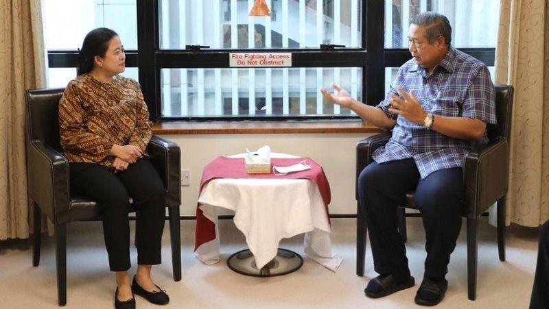 Puan Doakan Keluarga SBY Selalu Diberi Ketabahan