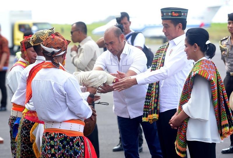 PresidenJokowi Tinjau KEK Pariwisata Labuan Bajo