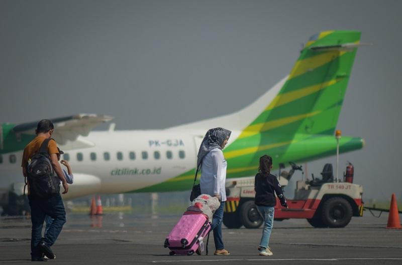 Ini Pengalaman Ineu Terbang dari Bandara Kertajati