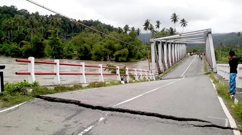 DPRD Maluku Tengah Desak Perbaikan Jembatan Wai Kaka