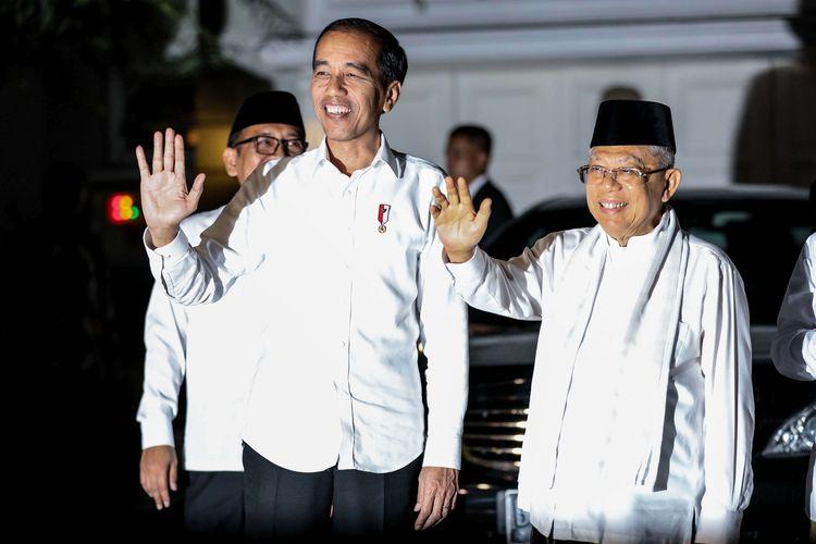 Lusa, Jokowi-Kiai Ma'ruf Sampaikan Pidato Visi Misi