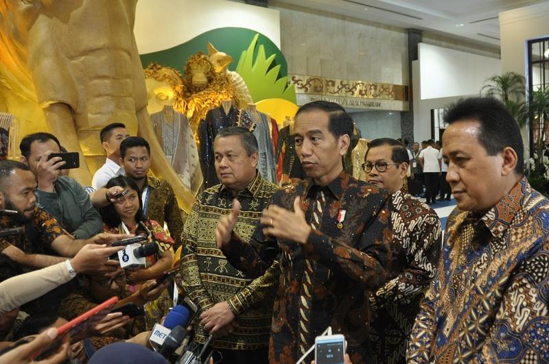 Jokowi: Komposisi Parpol & Profesional 60:40 atau 50:50