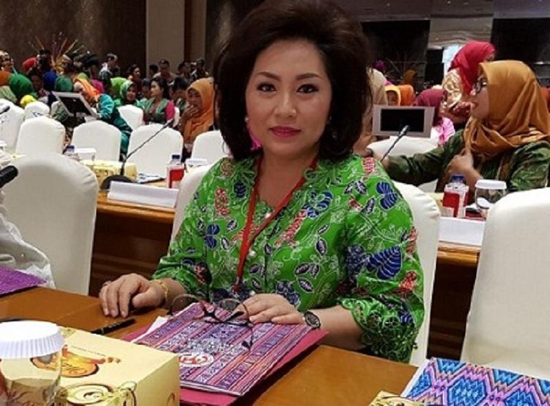 Digadang Maju Pilkada, Rita: Saya Hanya Istri Ketua Parpol