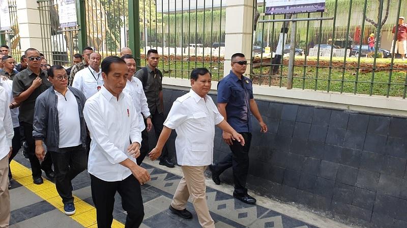 PDI Perjuangan Apresiasi Pertemuan Jokowi-Prabowo