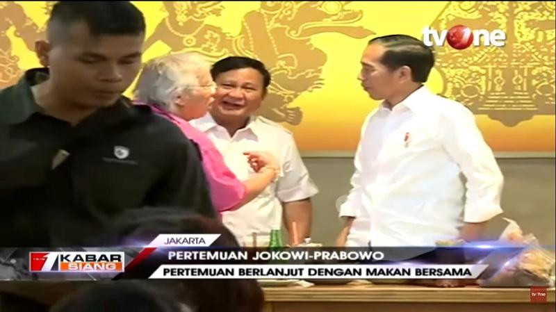 Sambangi Jokowi-Prabowo, Panda Harapkan Saling Memaafkan