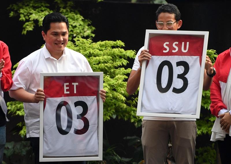 Erick: Pertemuan Jokowi-Prabowo Contoh Positif Bagi Milenial