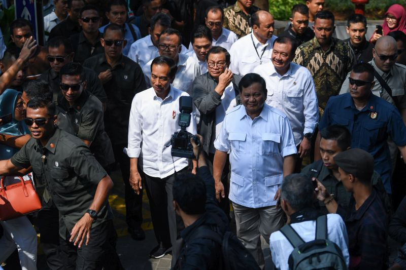 Pertemuan Jokowi-Prabowo Beri Pesan Damai ke Penjuru Negeri