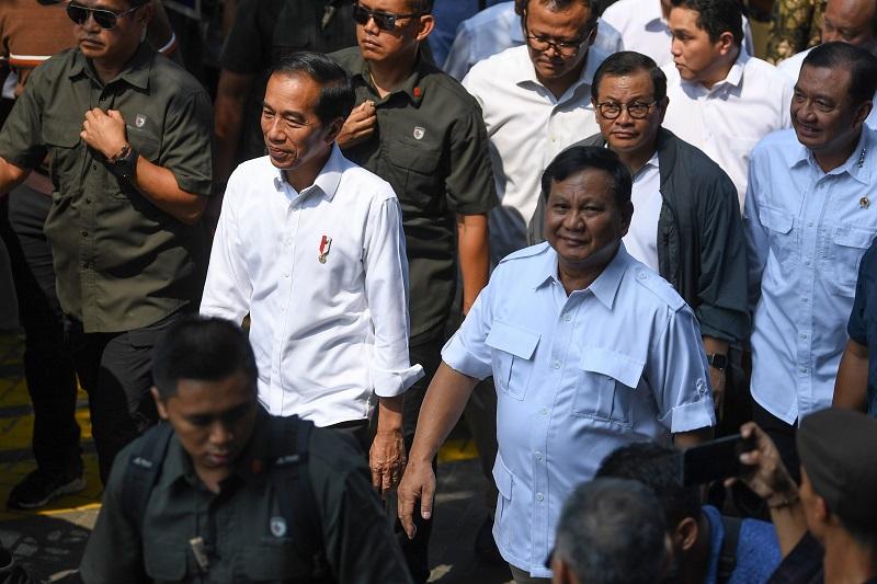 Pertemuan Jokowi-Prabowo Cairkan Suasana Politik