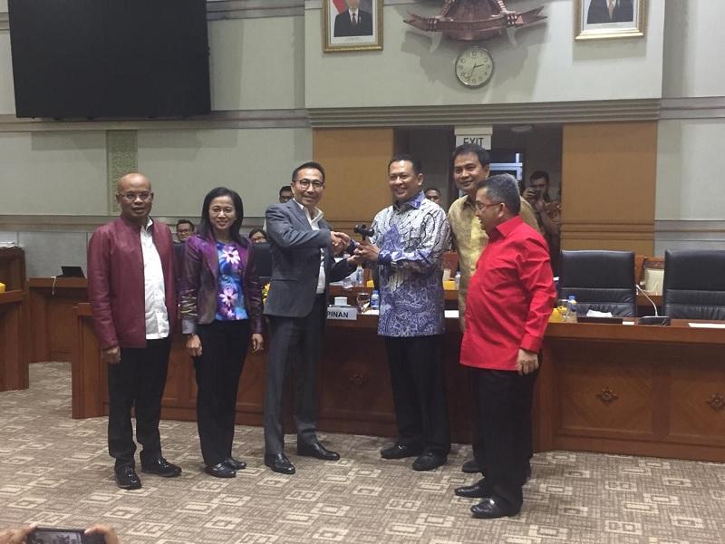 Rotasi di Komisi III DPR RI, Herman Heri Gantikan Trimedya