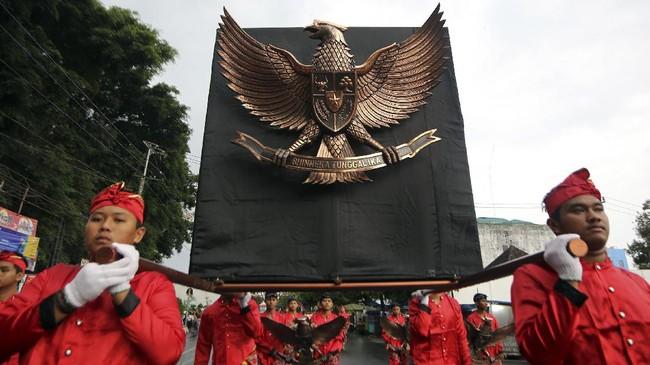 74 Tahun Kemerdekaan, Masih Ada Ormas yang Tolak Pancasila