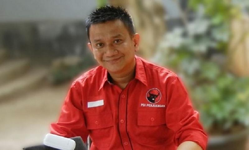 Hendrik Tangke Allo Kembali Pimpin PDI Perjuangan Depok