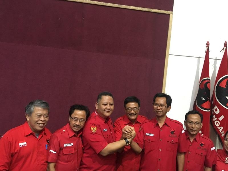 Ini Susunan Pengurus PDI Perjuangan Surabaya Terbaru