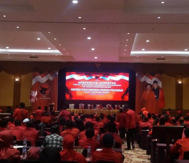 PDI Perjuangan NTB Gelar Konfercab Serentak