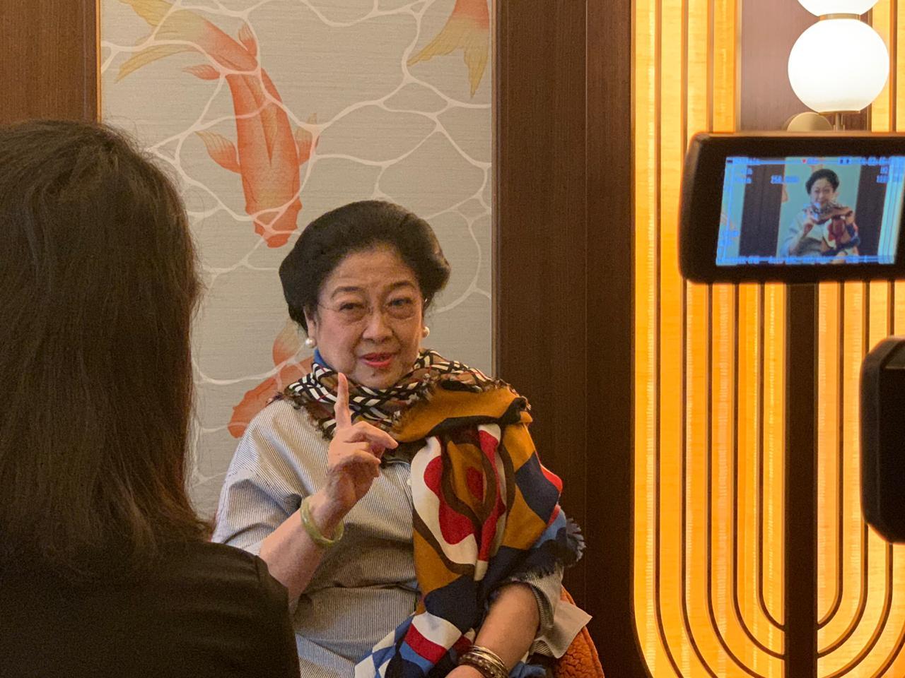 Keren, Megawati Masuk Nominasi Wanita Terpopuler di Dunia