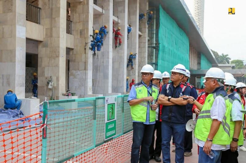 Renovasi Masjid Istiqlal Ditargetkan Selesai Maret 2020