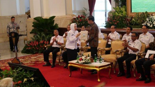 Presiden Jokowi Buka Rakornas BMKG