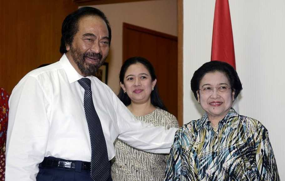 Eriko Tegaskan Hubungan Megawati-Surya Paloh Sangat Baik