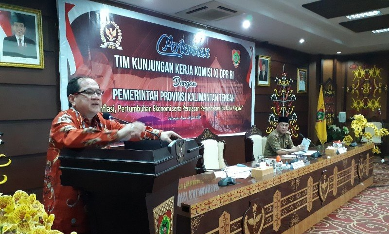 Rencana Pemindahan Ibu Kota Negara, DPR Kunker ke Kalteng
