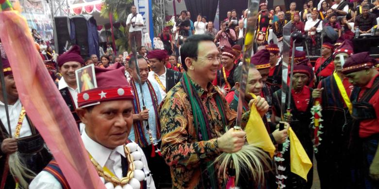 Sambangi Provinsi NTT, Ahok Siap Jadi Petani