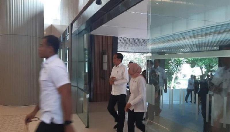 Presiden Jokowi Datangi Kantor Pusat PLN