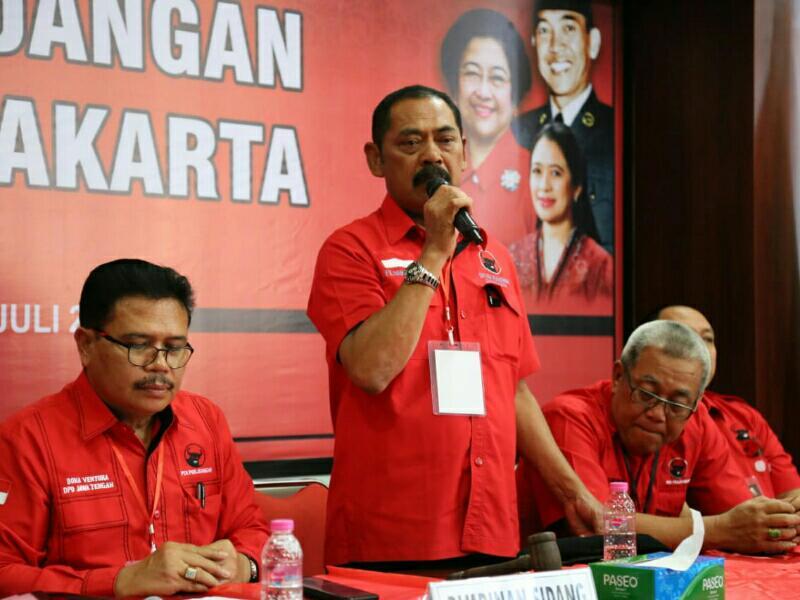 Kongres V PDI Perjuangan, Rudy Solid Dukung Megawati