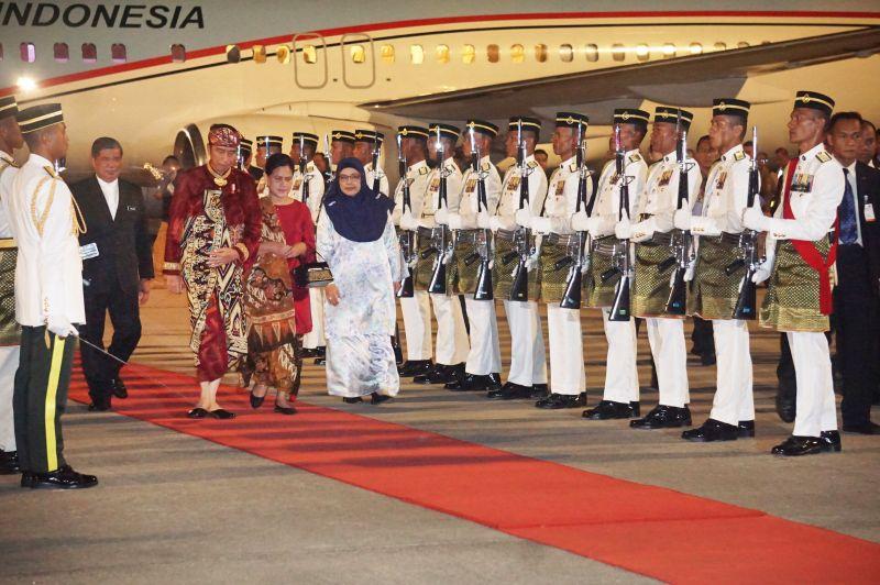 Usai Hadiri Kongres, Presiden Meluncur ke Malaysia