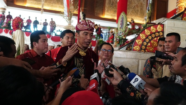 Jokowi Ucapkan Terima Kasih Atas Dukungan PDI Perjuangan