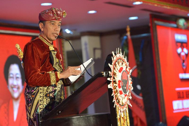 Jokowi Tegaskan SDM Berkualitas Fondasi Pembangunan