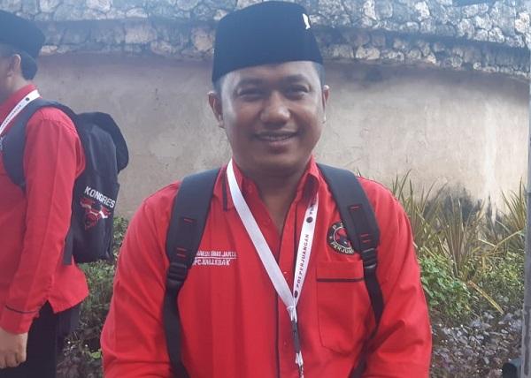 Ketua DPC Lebak Jadikan PDI Perjuangan Sebagai Pengabdian