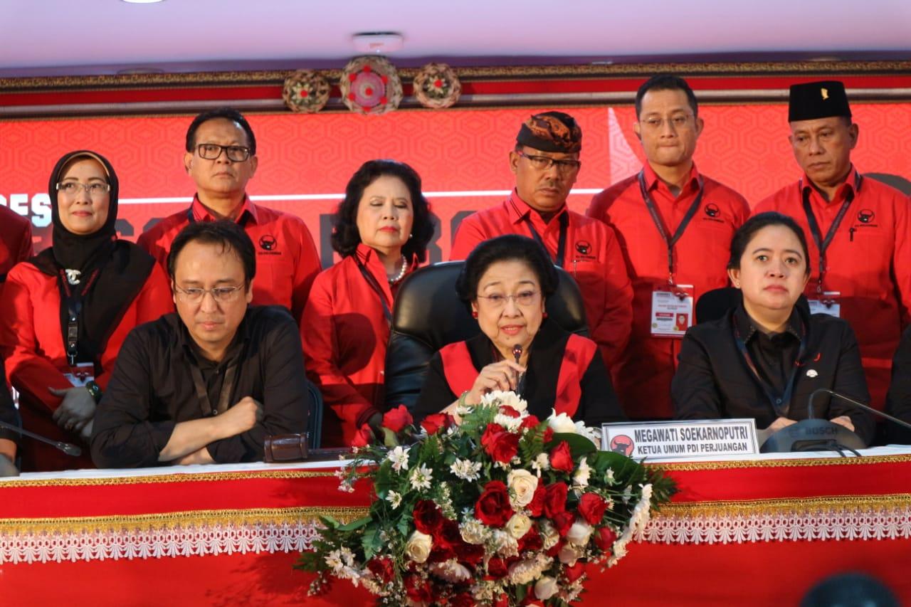 Wajah Baru Warnai Kepengurusan DPP PDI Perjuangan