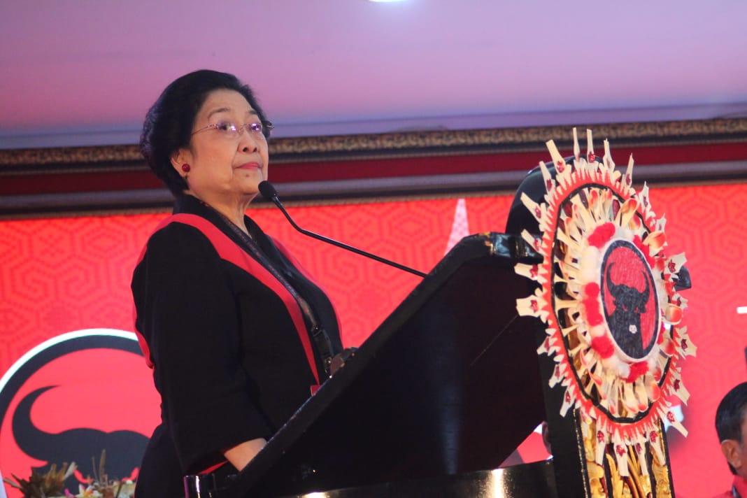 Megawati Sindir Peserta Kongres V yang Tak Disiplin
