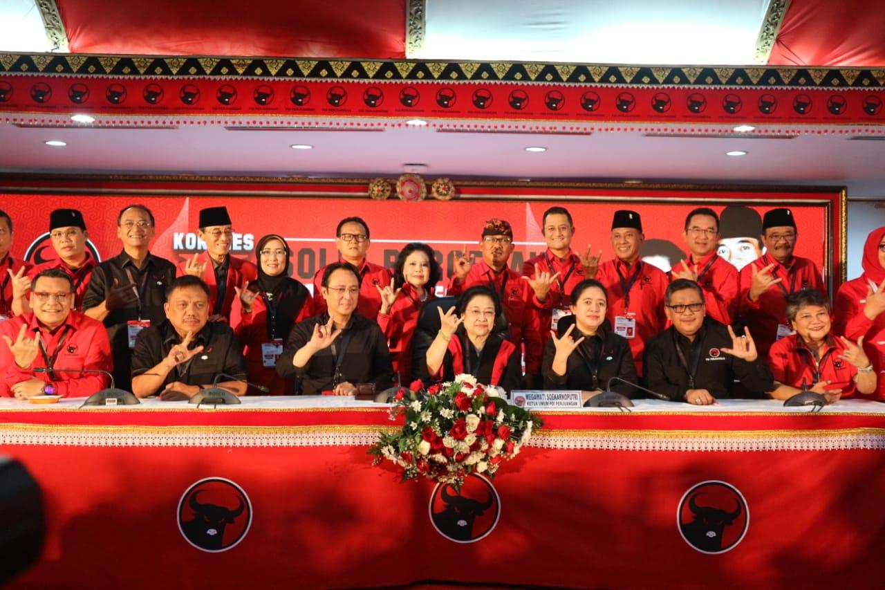 Megawati Optimistis PDI Perjuangan Cetak 'Hattrick' Pemilu