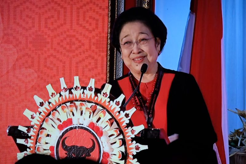 Pidato Megawati Mampu Bakar Semangat Kader