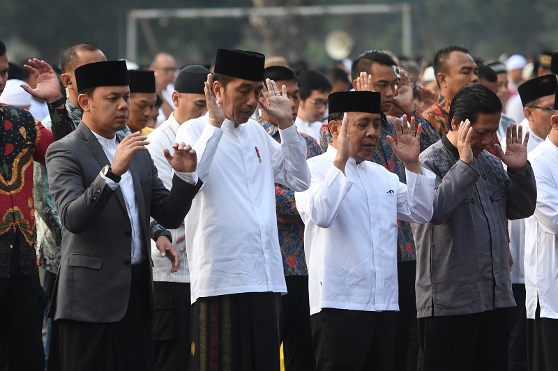 Hari Raya Idul Adha, Presiden Tekankan Kesalehan Sosial