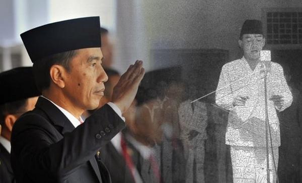 'Gerakan #upacara17an', Soekarno & Jokowi Upacara Bersama