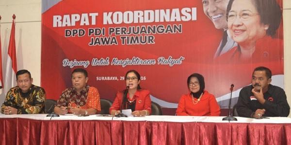 PDI Perjuangan Raup Kursi Terbanyak DPRD Jatim