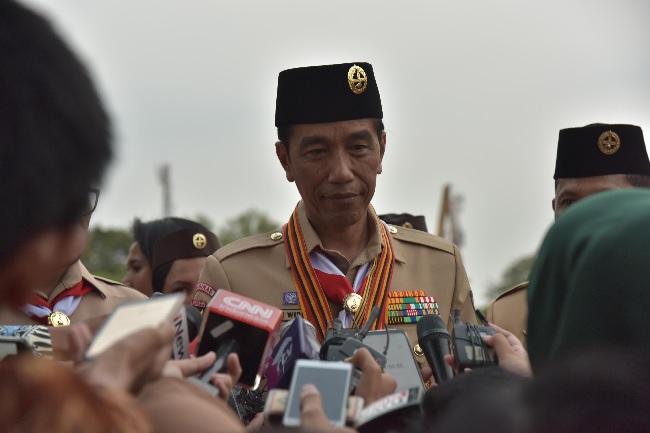 Presiden Jokowi Tegaskan Kabinet Adalah Hak Prerogatif
