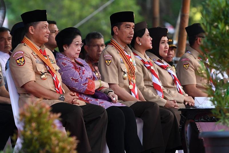 Presiden Jokowi Ungkap Komposisi Kabinet, 55:45