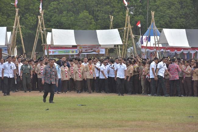 Presiden Jokowi Beri Perhatian & Dukung Gerakan Pramuka