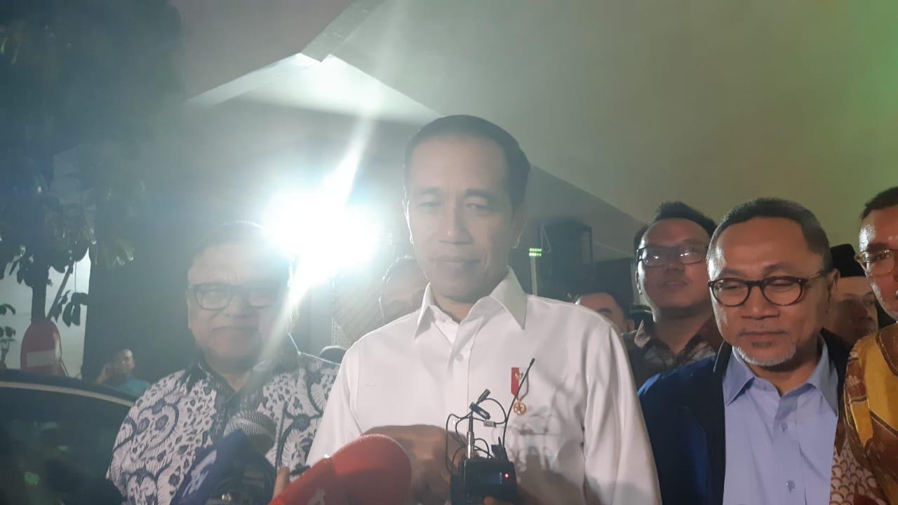 Jelang Pidato Kenegaraan, Jokowi Sambangi Gedung DPR