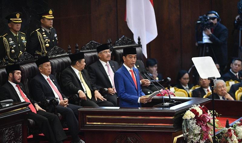 Presiden Jokowi Puji DPD Jadi Ujung Tombak Daerah