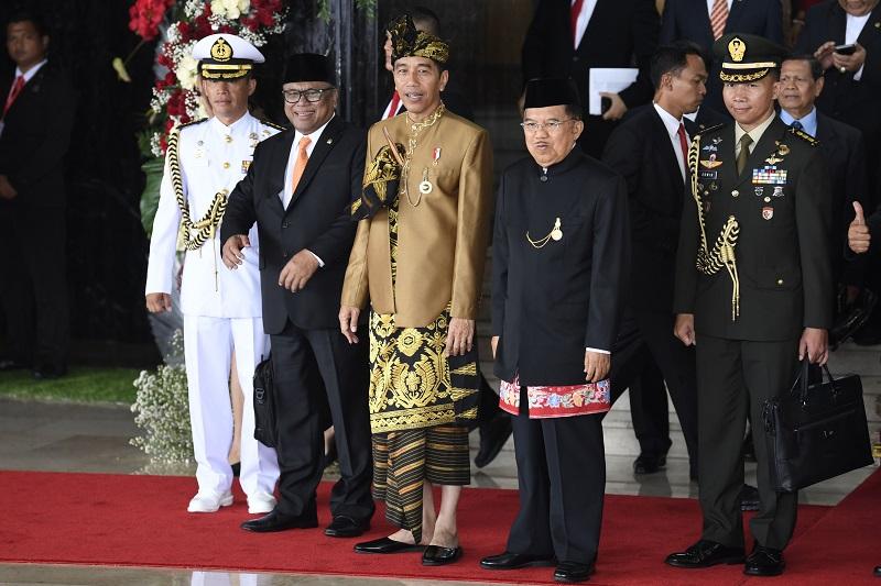 Jokowi Tegas Singgung Soal HAM dan Korupsi