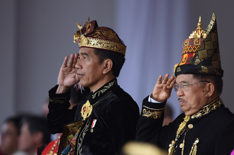 Presiden Jokowi Kenakan Pakaian Adat Bali