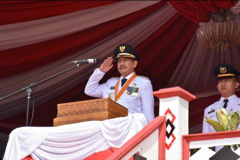 HUT ke-74 RI, Herman HN Imbau Isi dengan Pembangunan