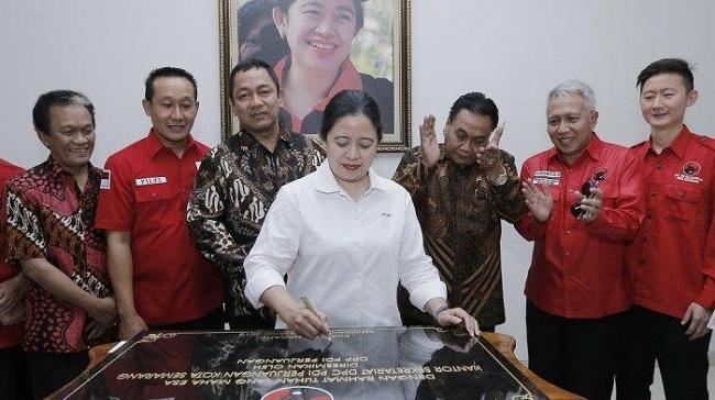 DPC Semarang Punya Kantor Baru, Puan Maharani Bangga