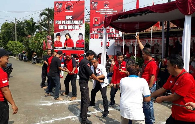 Peringati HUT RI, PDI Perjuangan Bogor Berkonsolidasi