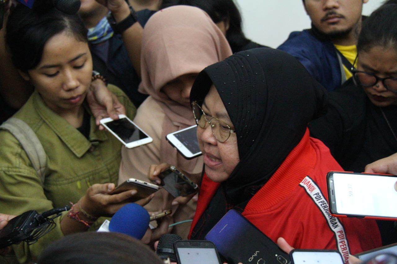 Ini Penjelasan Risma Soal Mahasiswa Papua di Surabaya